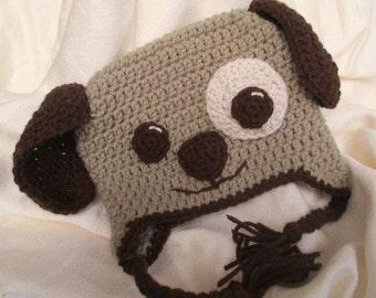 Puppy Hat - Crochet