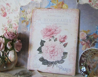 A Bougeault Sign/Print for Dollhouse Miniature