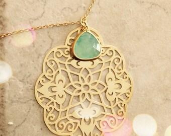 Statement Jewelry Statement Necklace Pendant Necklace Bridesmaid Gift Bridal Gift Set Wedding Bridal Jewelry Limonbijoux