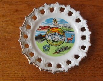Colorado Souvenir State Plate
