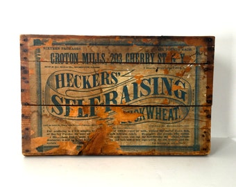 Vintage wooden crate/box