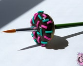 Donut Brush Stand with FREE Edible Glue Brush
