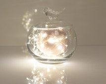 FAIRY LIGHTS -Microdrop LED string  - mini wedding decorations lights- copper wire lights - backdrop - photoshoot  - party lights