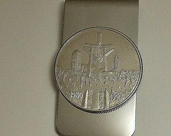 Poland Vintage Coin Money Clip 1990