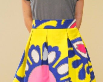 Easy Box Pleated 2 Hour Skirt Pattern