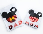 READY TO SHIP Family Disney Trip, Mickey Mouse Birthday, First Disney Mickey Minnie Birthday Outfits