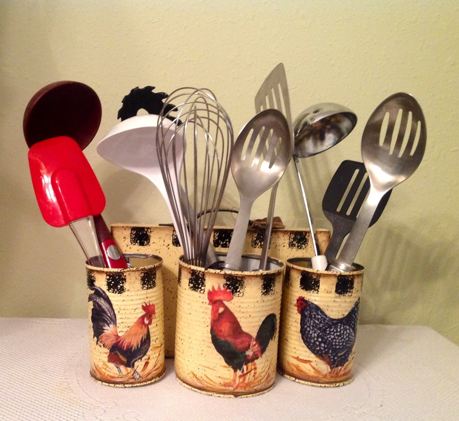 Rooster Kitchen Storage Kitchen Decor Country By