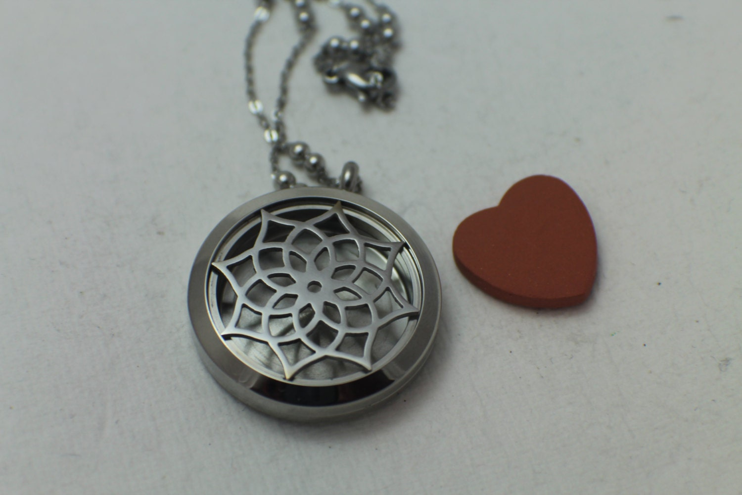 aromatherapy necklace essential by motherdaughterjewel