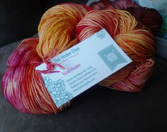 "Sock Yarn - ""My Peeps"" - Superwash Merino Nylon 463 Yards"