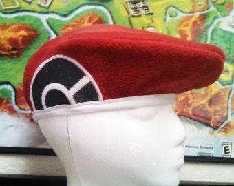Lucas Beret Hat - Pokemon Diamond/Pearl/Platinum cosplay