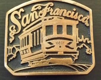 San Francisco Vintage Belt Buckle