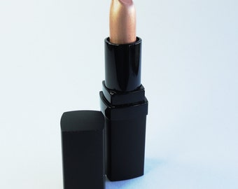 Nude Lipstick Pale Bronze Vegan Paraben- Free Mineral Makeup Frosted Pearl  Lips POP TARTE
