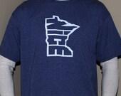 Minnesota Nice, Outline T Shirt