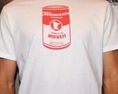 Cream of the Midwest Soup Can t-shirt