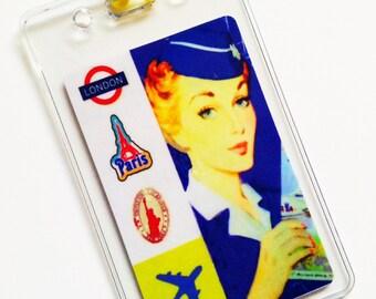 Vintage Inspired Luggage Tag