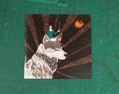 Wolf Woman ~ Greeting Card