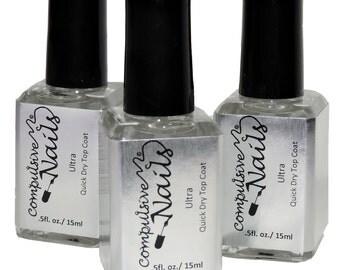 Compulsive Nails Ultra Quick Drying Nail Polish Top Coat