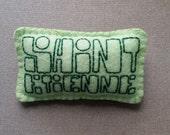 Saint Etienne felt badge