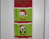 Christmas -3 pocket Disney Cruise Fish Extender - Custom Designed with your favorite characters