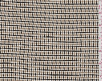 "60"" Houndstooth Check Suiting by the yard"
