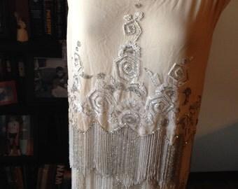 CLEARANCE!!!!   Splendid House of Adair French Art Deco Beaded Flapper Dress