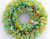Choose Your Colors Wreath - Custom Wreath - Indoor Outdoor Wreath - Outdoor Wreath - Spring Wreath - Multicolor Wreath - Wedding Wreath