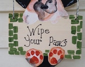 Painting-Wood sign-Dog Sign-Wood Sign-Decor Sign-Hand Painted Sign