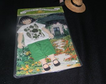 Tshirt and Trousers for Linnea in Monet's Garden