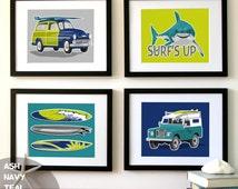 Popular items for surf board decor on etsy for Surf nursery ideas