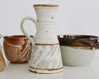 Mid Century Modern Studio Pottery Pitcher