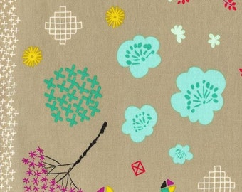 Cotton + Steel - Rashida Coleman Hale - Mochi - Floral - Linen