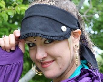 Adorable Ruffle Visor Headbands