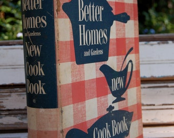 "1950's  Better Homes and Garden ""New"" Cookbook"