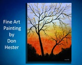 Painting Abstract Acrylic painting by HesterPaintings