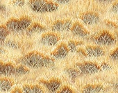 Grass, Unbridled by Wilmington Prints, Gold Grass Fabric, Horse Fabric, Wheat, 10208