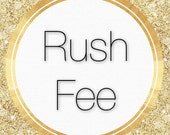 RUSH FEE - Processing Time Upgrade ONLY