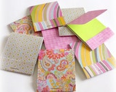 assorted matchbook note pads mini jotter mini note book set of 8 matchbook style handmade note pads or promo items