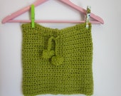Winter Fashion-mohair green scarf ,hand knit scarf