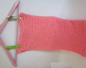 LOVE - Valentine's Day Scarves  Beautiful Hand knitting pink scarf