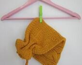 Wonderful Christmas Gift,soft yellow knit hat