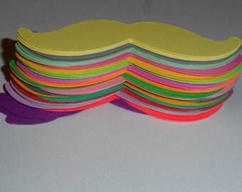 special today 90 total Mustache Moustache Mustache Moustache - party decorations - confetti