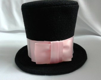 Dog Top Hat, Wedding Top Hat Dogs, Party Dog Hat, Pet Hat, Dog Hat, Dog Clothes, Pet Clothes, Handmade Hat, Handmade Dog Hat