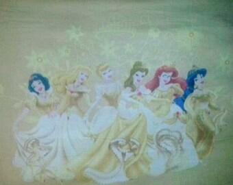 CLEARANCE SALE Disney Princess Fleece Fabric Panel Throw Blanket