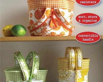 Ingrid - Convertible Canisters - Hemma Designs