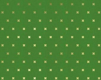 Cotton + Steel - Basics - XOXO in Picnic Gold - Cotton + Steel - 5001-008 - 1/2 Yard