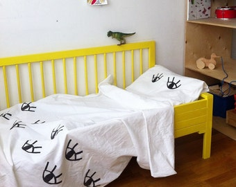 Blockprint bed linen set for children
