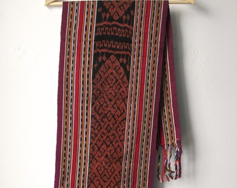 Colorful vintage Ikat from the Island of Timor