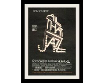 1980 All That Jazz Movie Ad, Advertisement Wall Art Decor