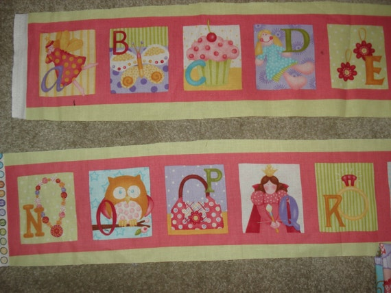 Little Girl Alphabet Strip DESTASH