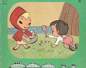 The Sugar Plum Tree Vintage Rand McNally Elf Book Illustrated by Storytoon Express